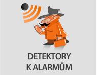 Ampertech - detektory k alarmům